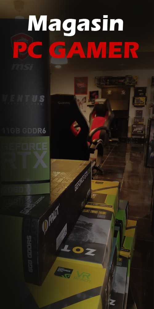 Magasin PC GAMER